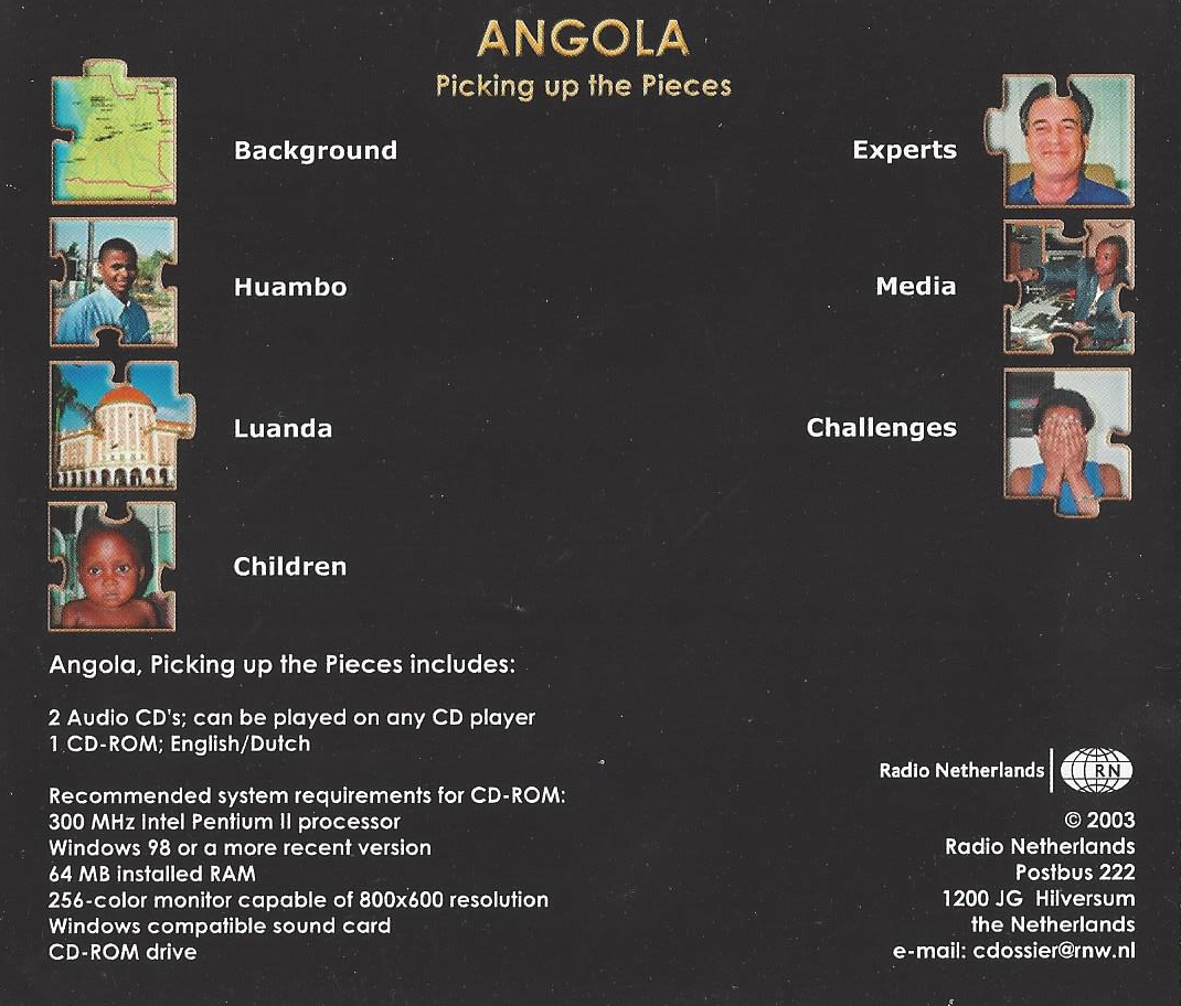 Angola - Picking up the Pieces