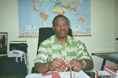 Dr. Daniel Ntoni Nzinga, executive secretary of Angola's Inter-church Committee for Peace