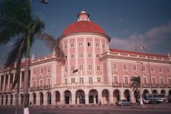 Angola\'s national bank on the Luanda waterfront