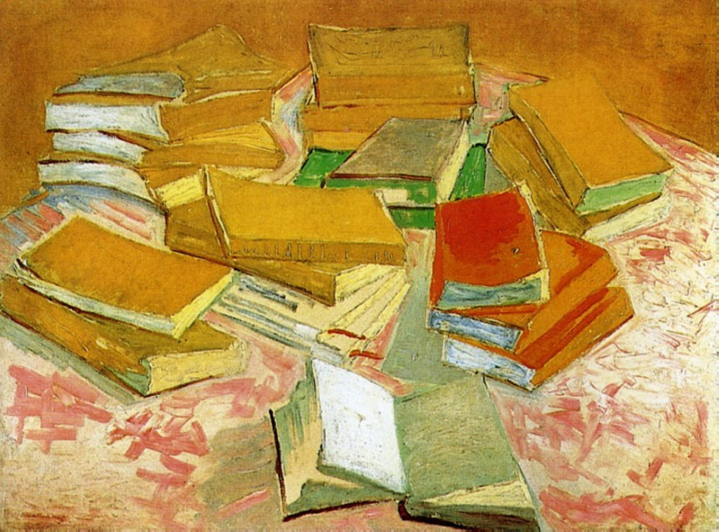 Vincent Van Gogh Painting Of French Novels 1887 Museum Amsterdam